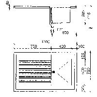 Рабочая поверхность (модуль) с глубокой мойкой WKT 1275