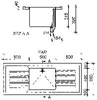 Рабочая поверхность (модуль)с глубокой мойкой WKT1560