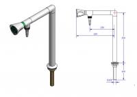 Кран для подвода воды мод.11062