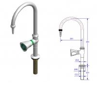 Кран для подвода воды мод.11080