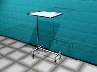 Столик для операционной сестры АТ-В24 Нержавеющая сталь