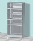 Шкаф открытый АR-C234S