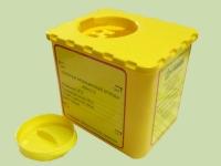 Емкость для сбора использованных колюще-режущих отходов класса «Б», 0,5л