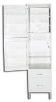 Шкаф ШМФ-01, мод. 4, класса В - для хранения фармпрепаратов и ящиком класса В