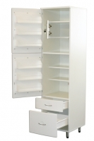 Шкаф медицинский для фармпрепаратов ШМФ-01, мод. 6, класса В