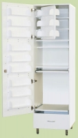 Шкаф ШМФ-01, мод. 8, класса В -  для фармпрепаратов с отделениями для сейфа и холодильника